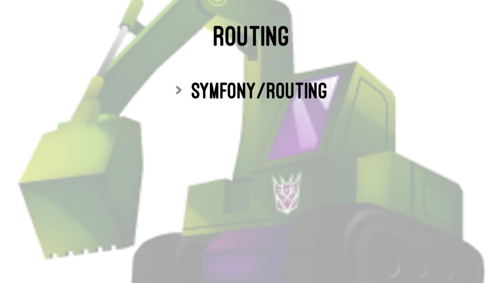 ROUTING > symfony/routing