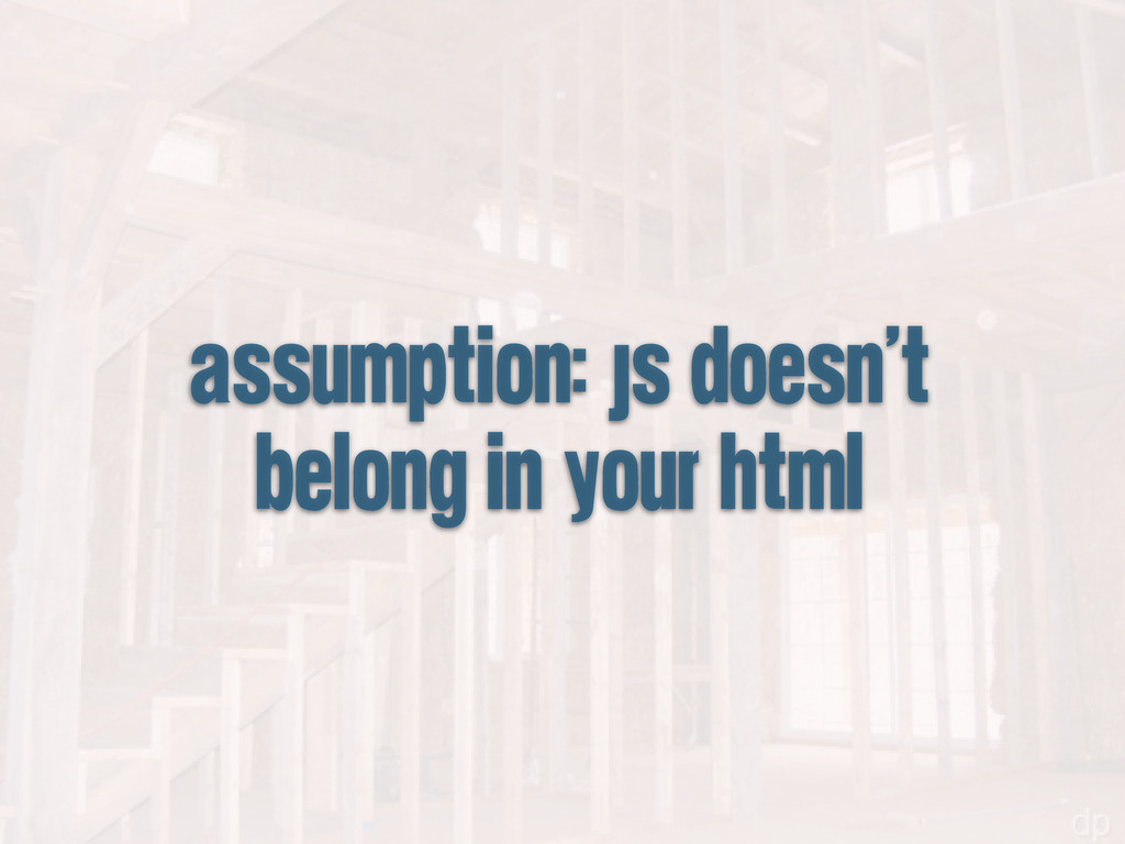 assumption: js doesn't belong in your html