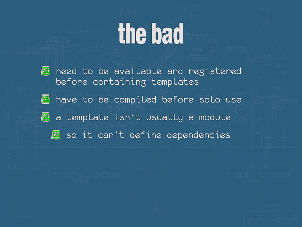 the bad need to be available and registered bef...
