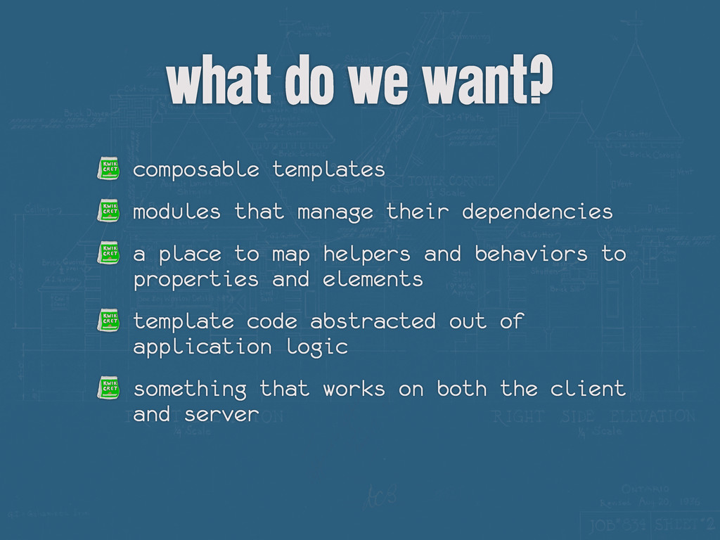 composable templates modules that manage their ...