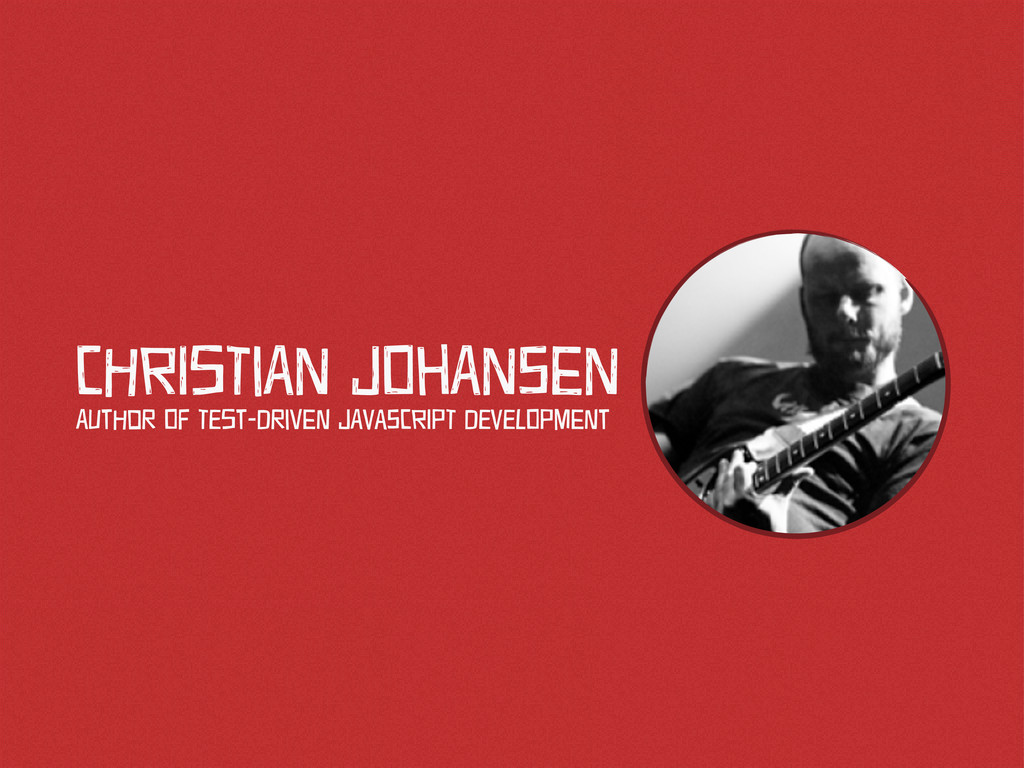 CHrIsTiAn JOhAnSen AUtHoR Of TEst-DRiVeN JAvaSC...