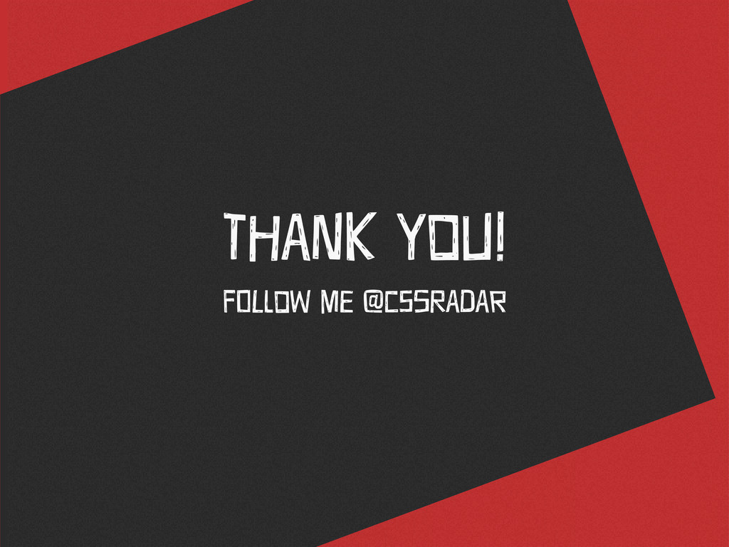 THaNk You! FOlLoW ME @cSsRAdAr