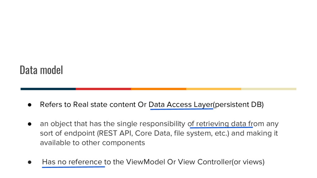 Data model ● Refers to Real state content Or Da...