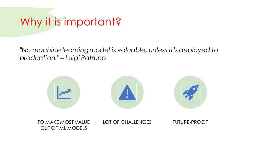 Why it is important? TO MAKE MOST VALUE OUT OF ...