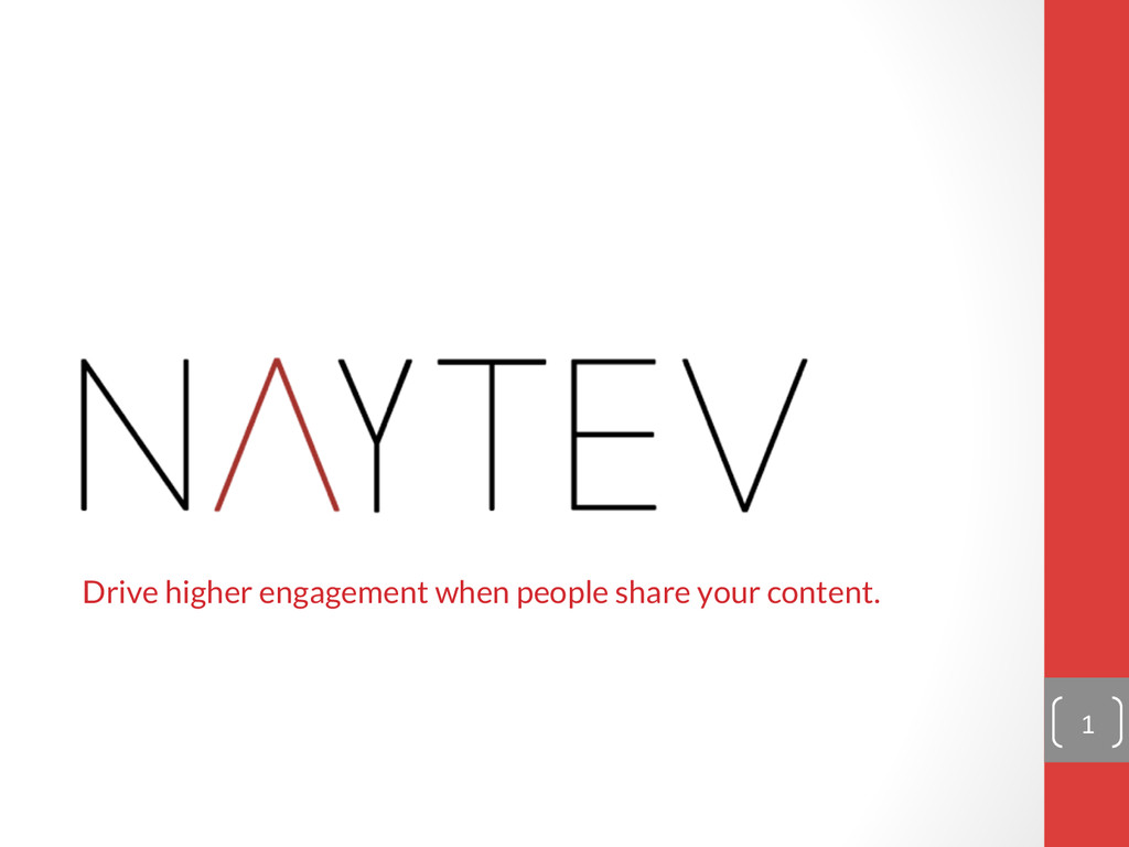 Drive higher engagement when people share your ...