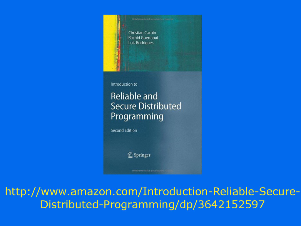http://www.amazon.com/Introduction-Reliable-Sec...
