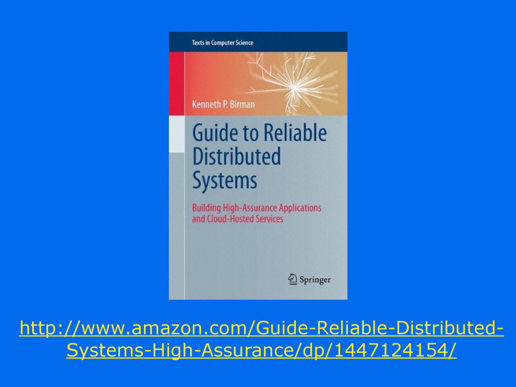 http://www.amazon.com/Guide-Reliable-Distribute...