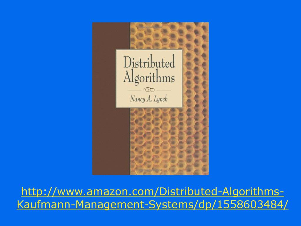 http://www.amazon.com/Distributed-Algorithms- K...