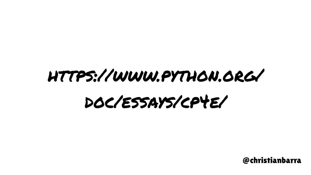 https://www.python.org/ doc/essays/cp4e/ @chris...