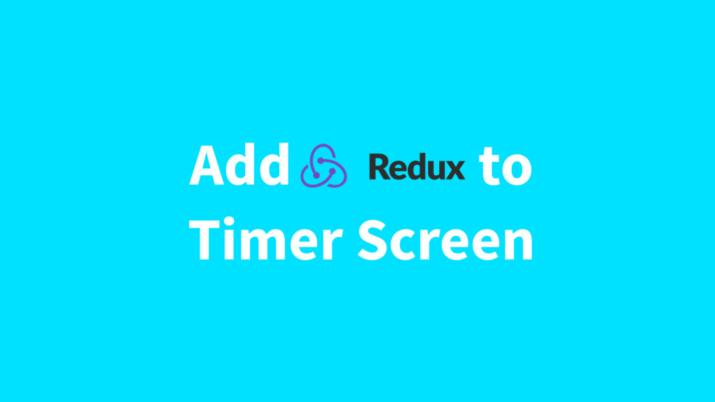 Add to Timer Screen