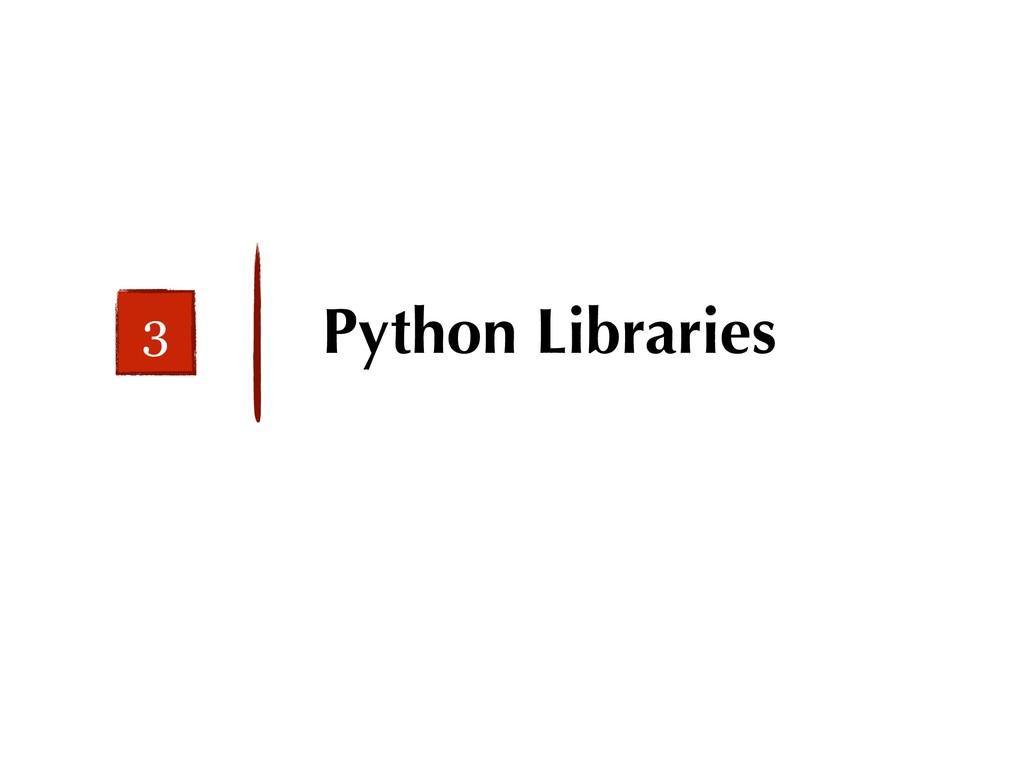 Python Libraries 3