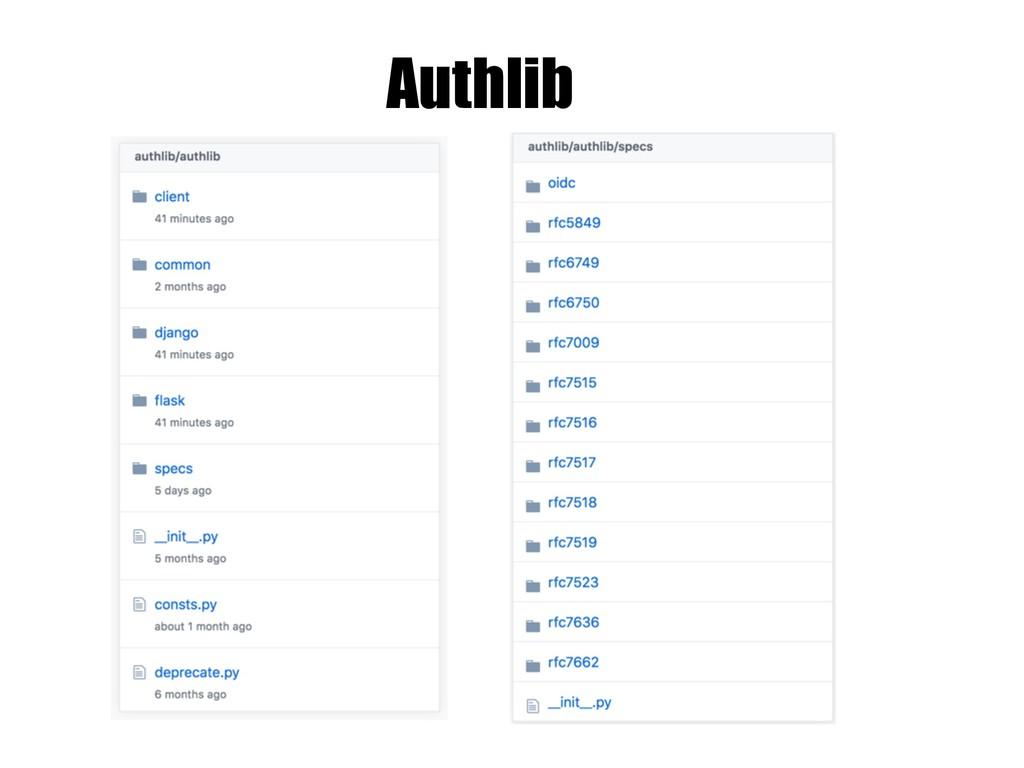 Authlib