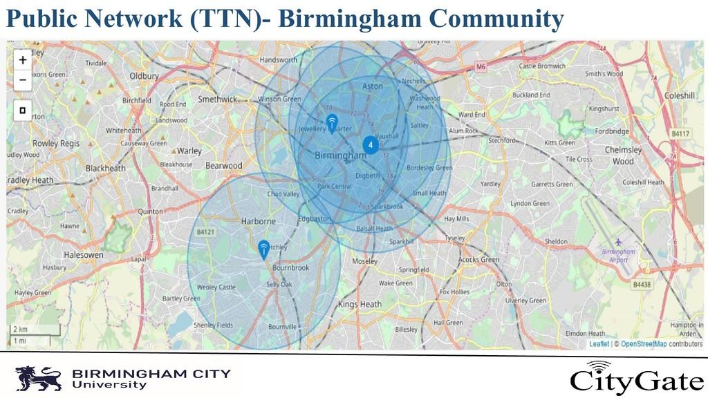 Public Network (TTN)- Birmingham Community