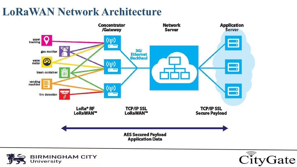 LoRaWAN Network Architecture