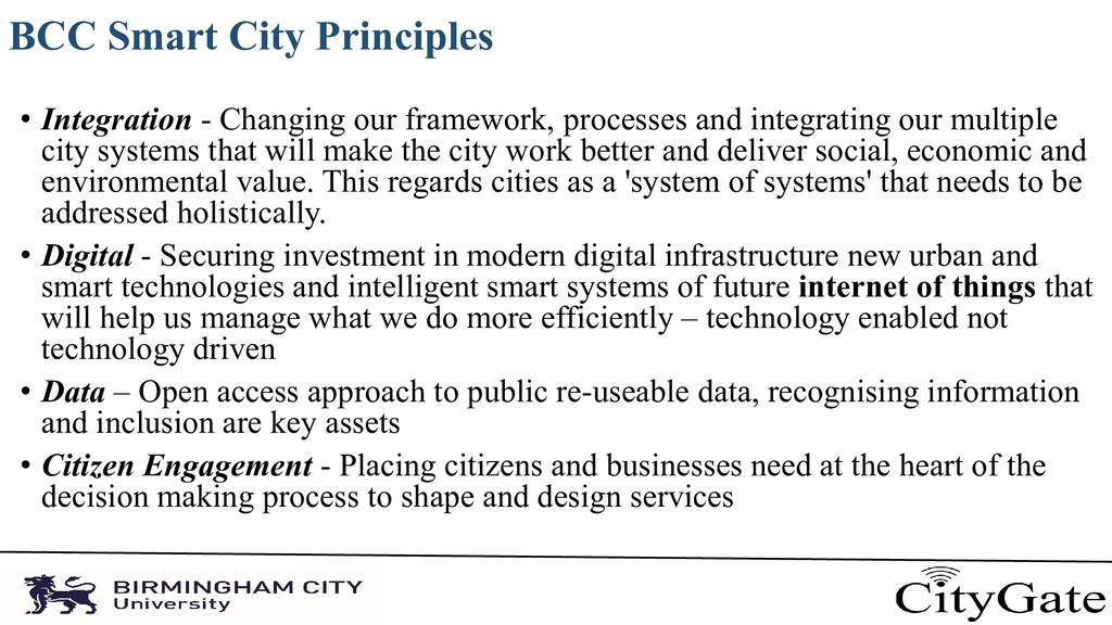 BCC Smart City Principles • Integration - Chang...