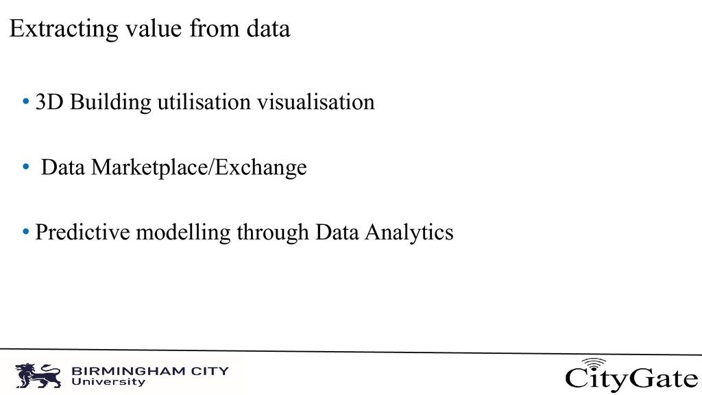 Extracting value from data • 3D Building utilis...