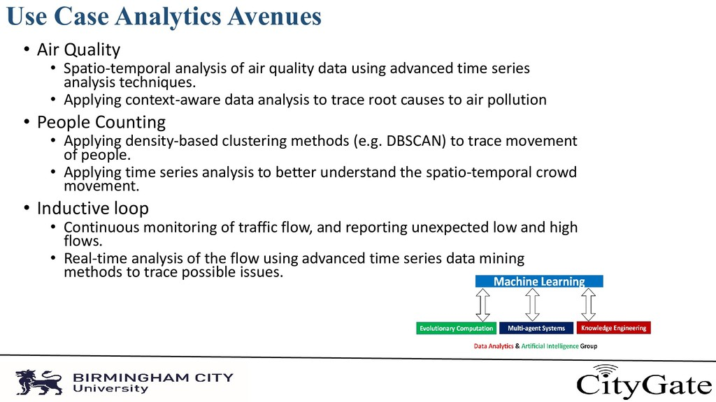Use Case Analytics Avenues • Air Quality • Spat...