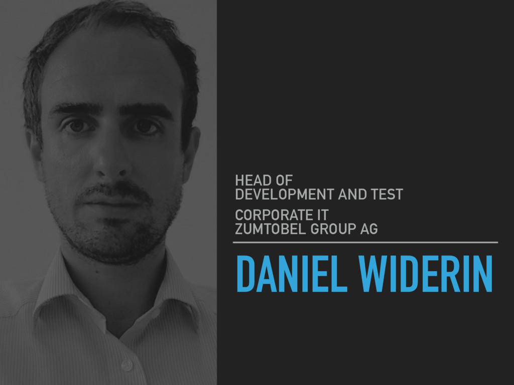 DANIEL WIDERIN HEAD OF 