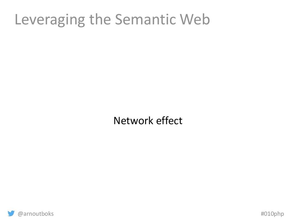 @arnoutboks #010php Leveraging the Semantic Web...