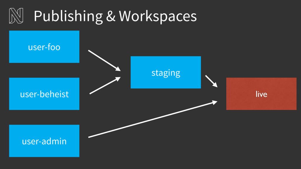 Publishing & Workspaces staging user-beheist us...