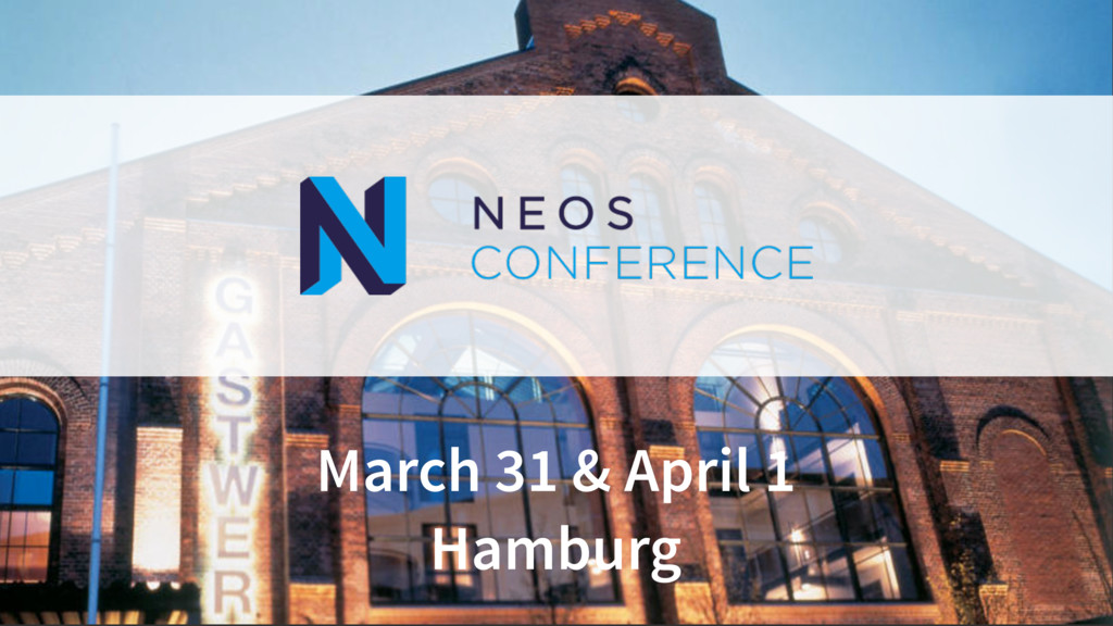March 31 & April 1 Hamburg