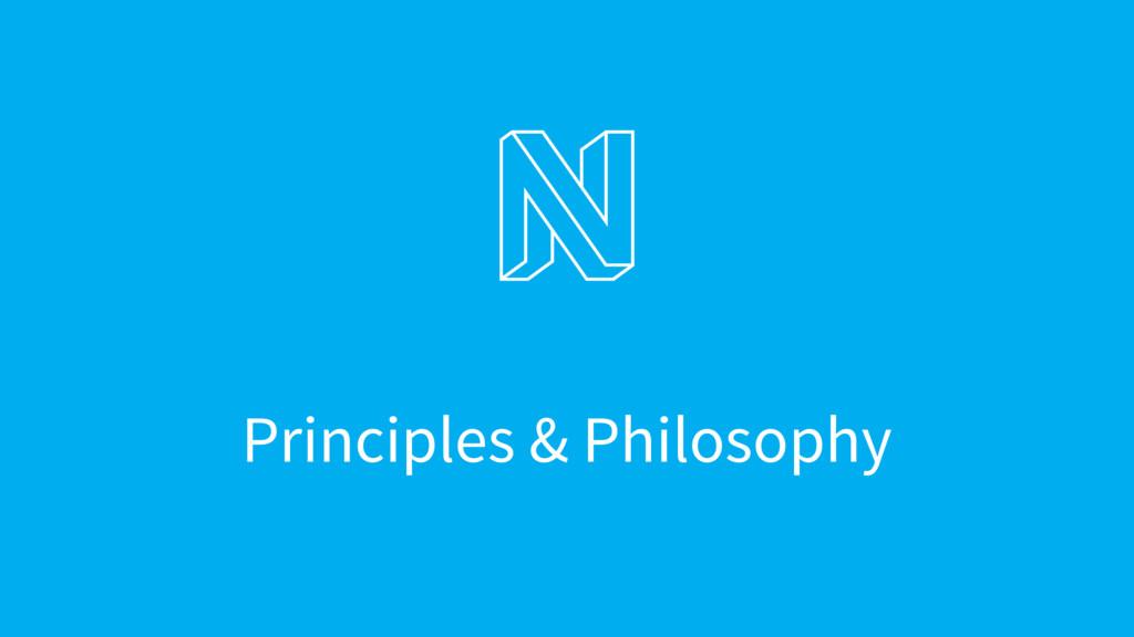 Principles & Philosophy