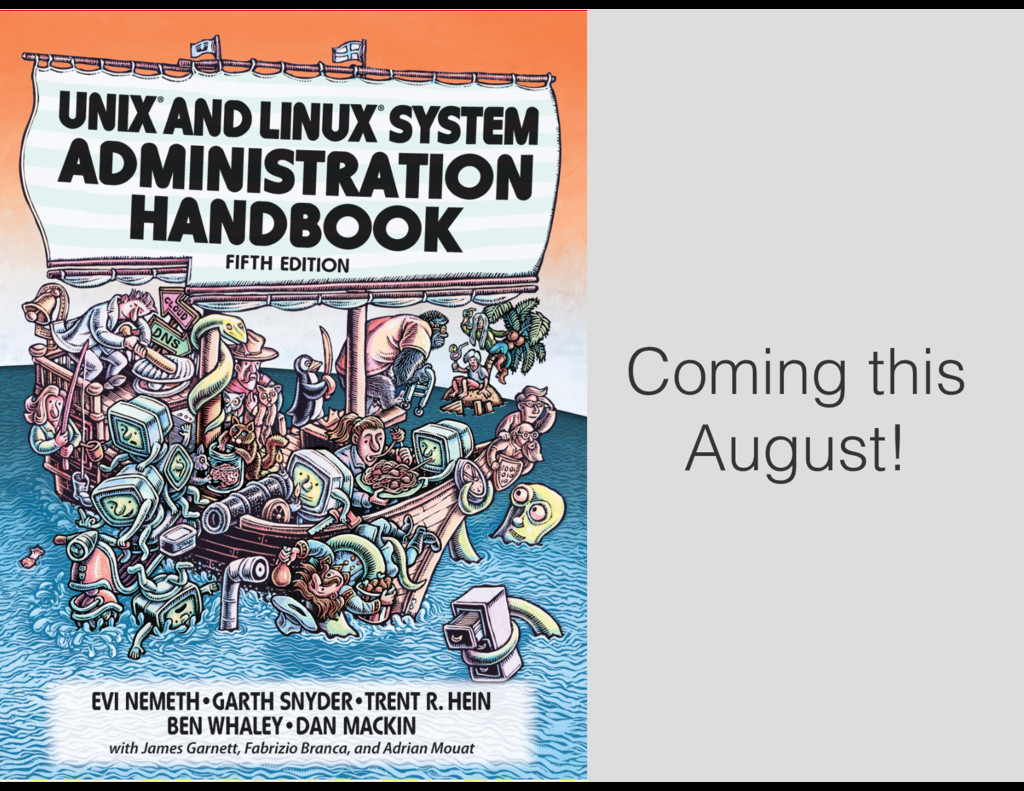 Coming this August!