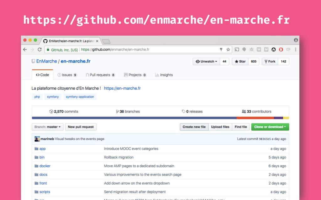 https://github.com/enmarche/en-marche.fr