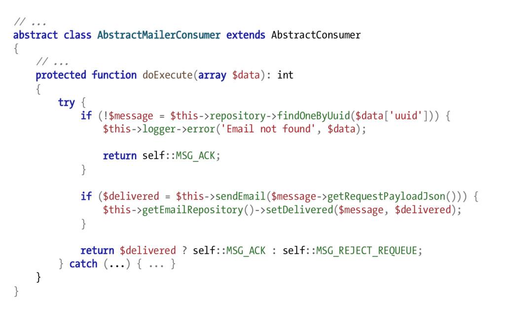// ... abstract class AbstractMailerConsumer ex...