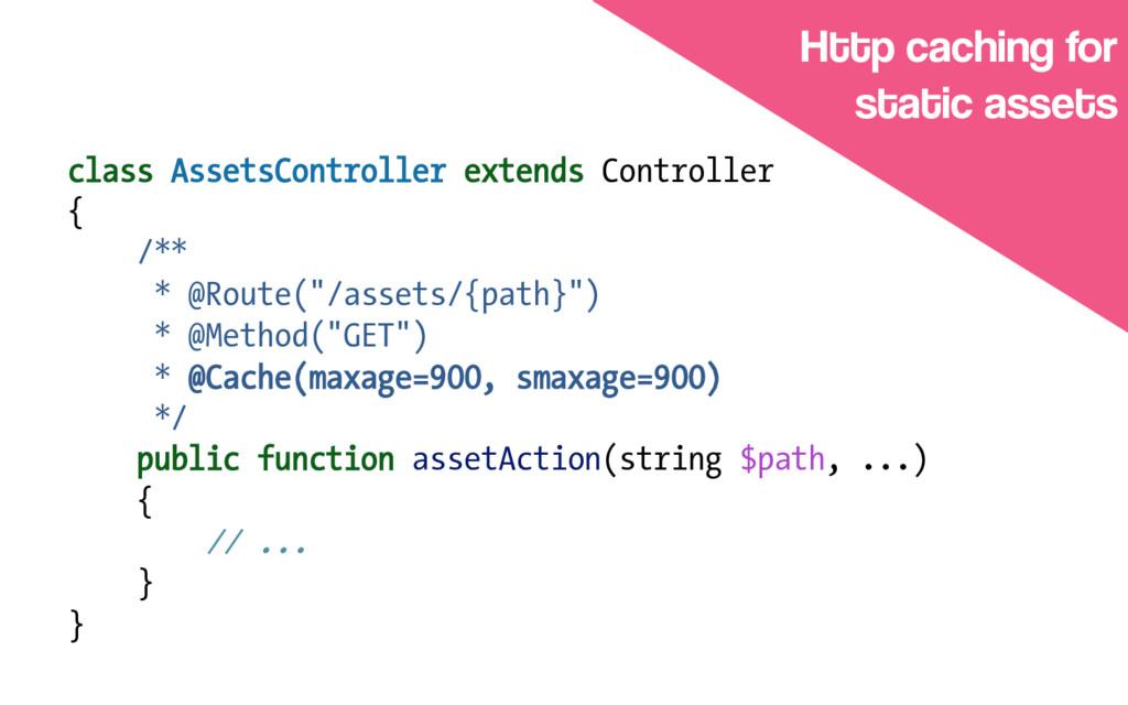 class AssetsController extends Controller { /**...
