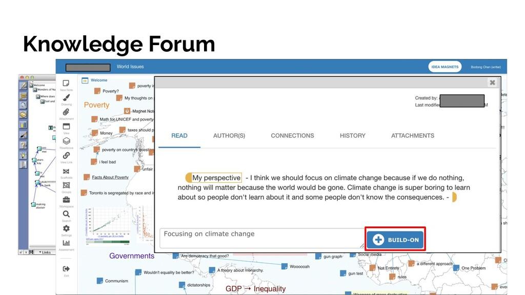 Knowledge Forum