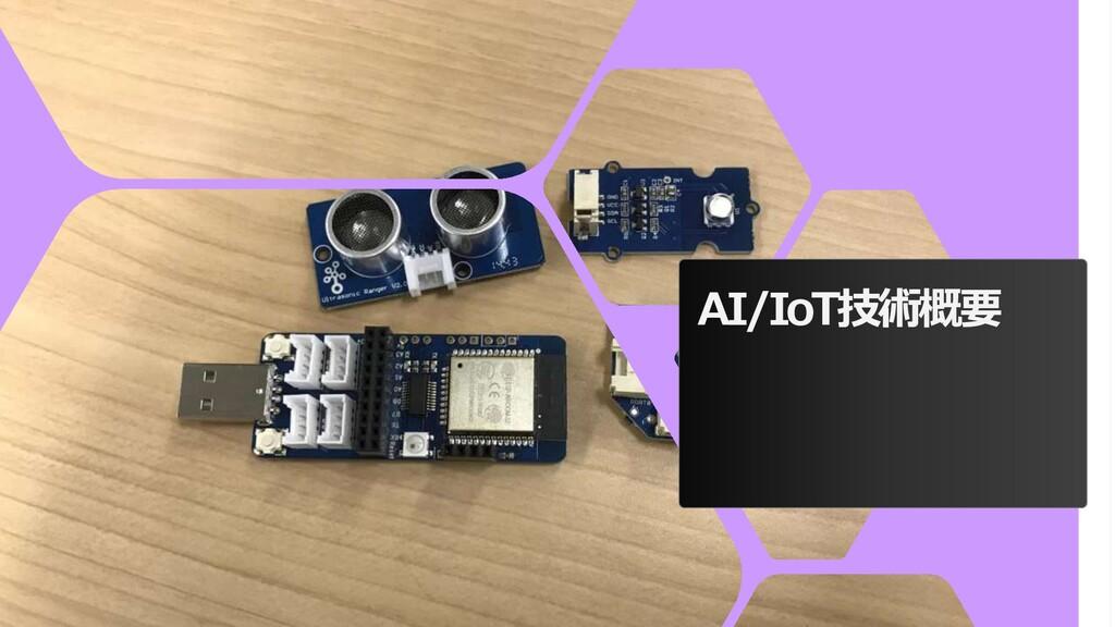 AI/IoT技術概要