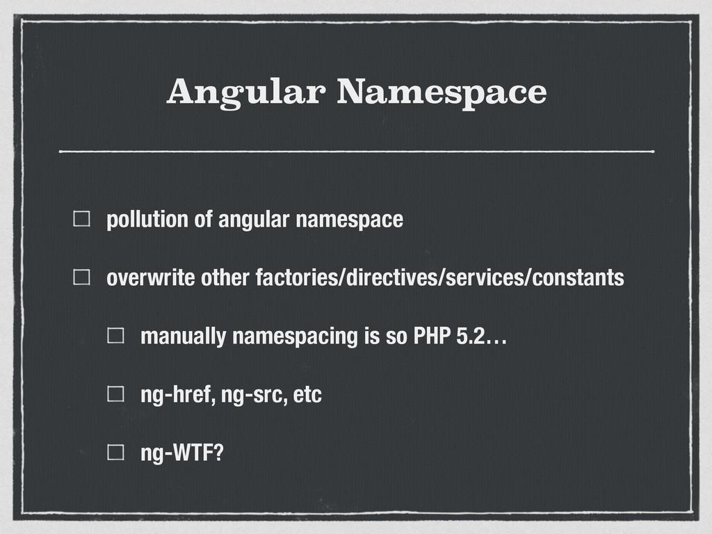 Angular Namespace pollution of angular namespac...
