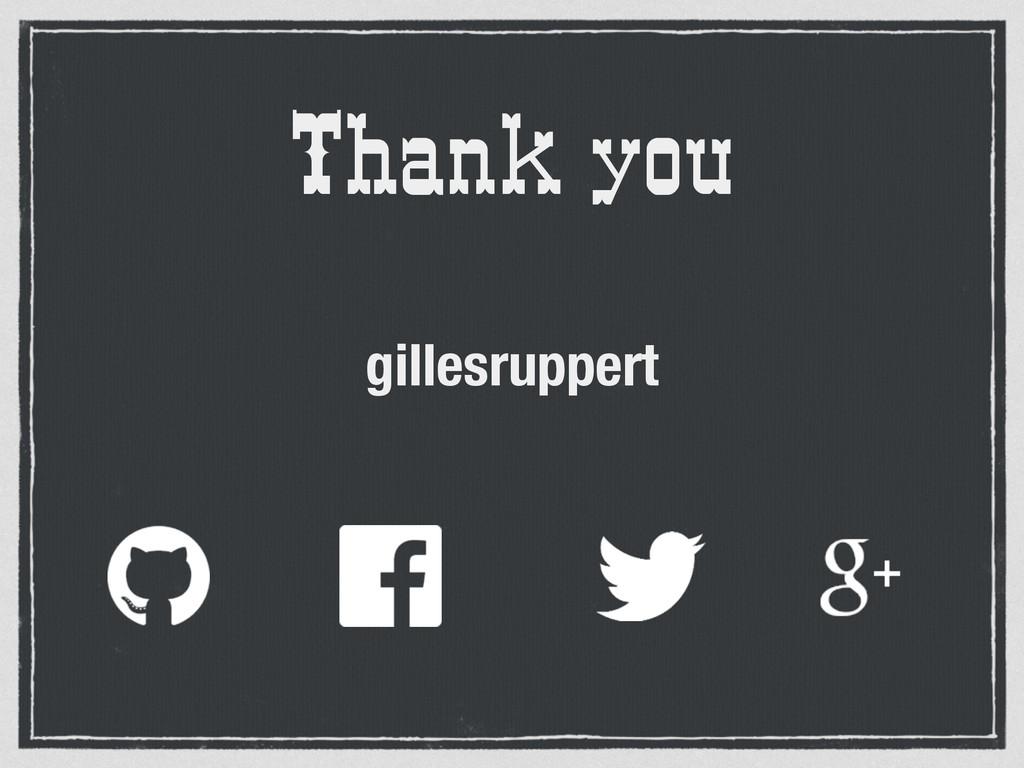 Thank you gillesruppert