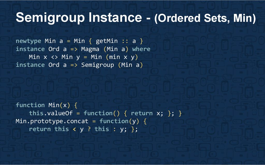 newtype Min a = Min { getMin :: a } instance Or...