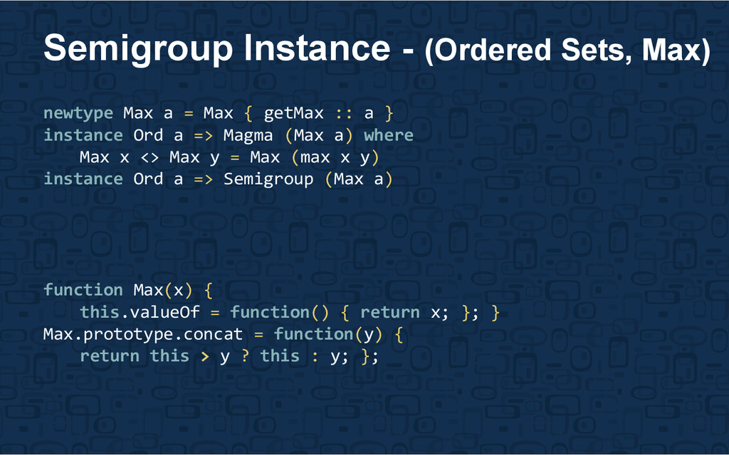 newtype Max a = Max { getMax :: a } instance Or...