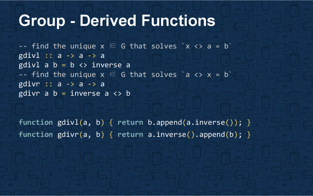 Group - Derived Functions -- find the unique x ...