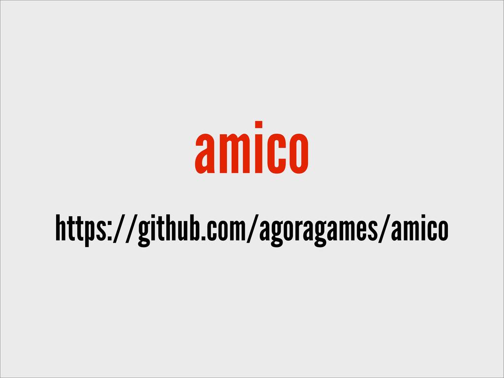 amico https://github.com/agoragames/amico