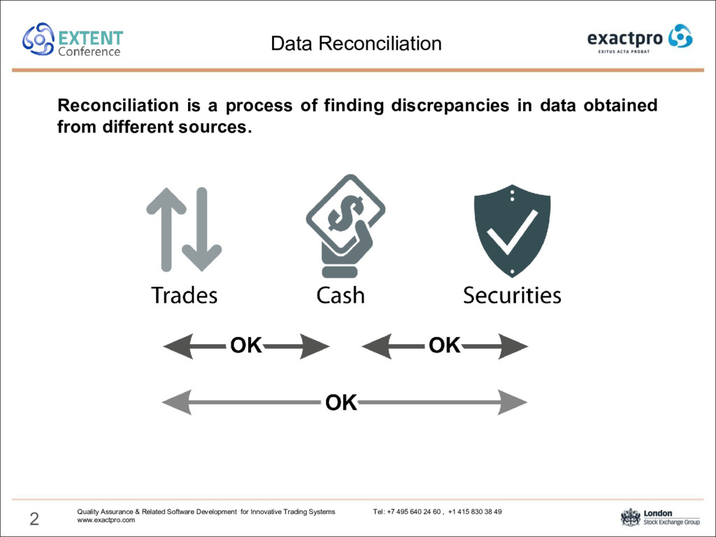 2 Reconciliation is a process of finding discre...