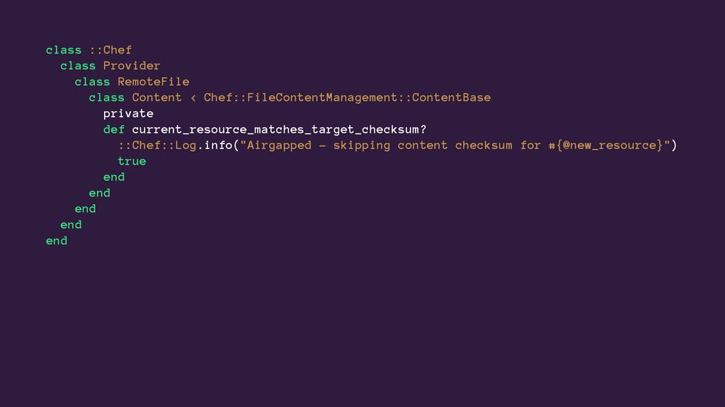 class ::Chef class Provider class RemoteFile cl...