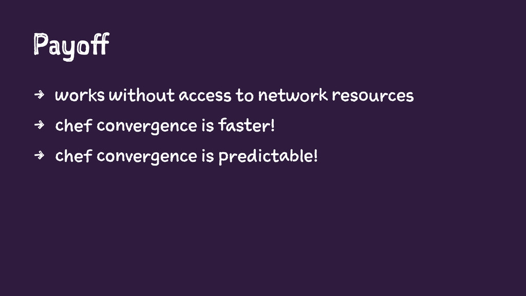 Payoff 4 works without access to network resour...