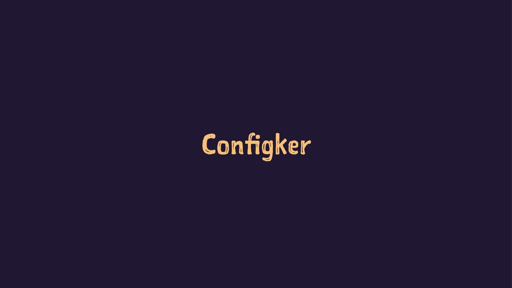 Configker