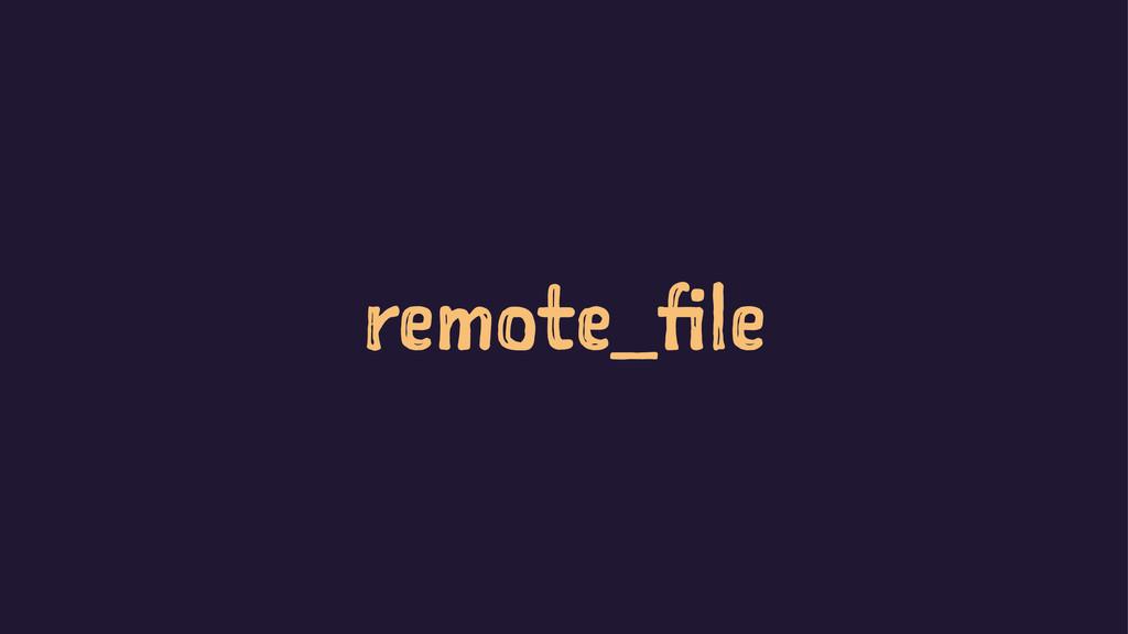remote_file
