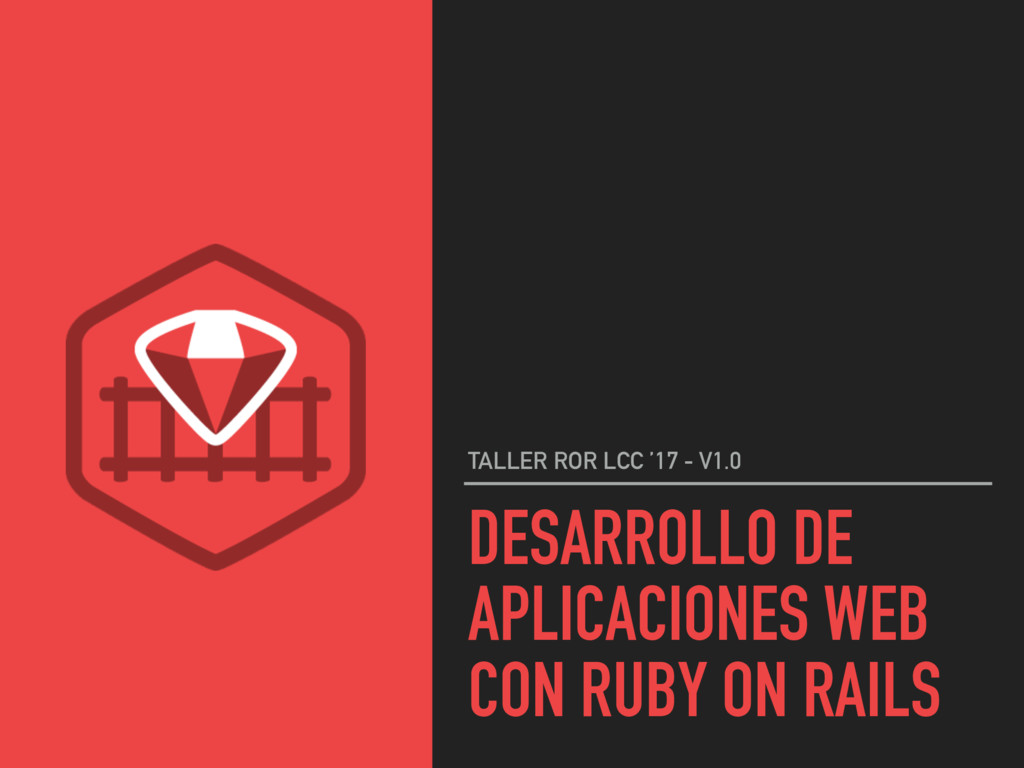 DESARROLLO DE APLICACIONES WEB CON RUBY ON RAIL...