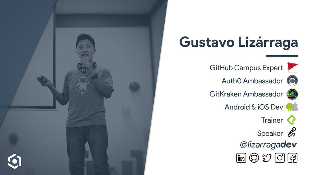 Gustavo Lizárraga GitHub Campus Expe rt   Auth0...