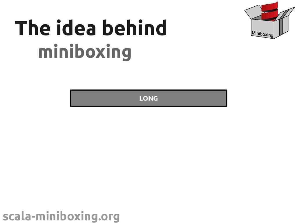 scala-miniboxing.org @miniboxing The idea behin...