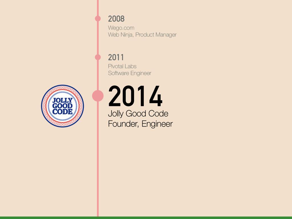 2008 Wego.com Web Ninja, Product Manager 2011 P...