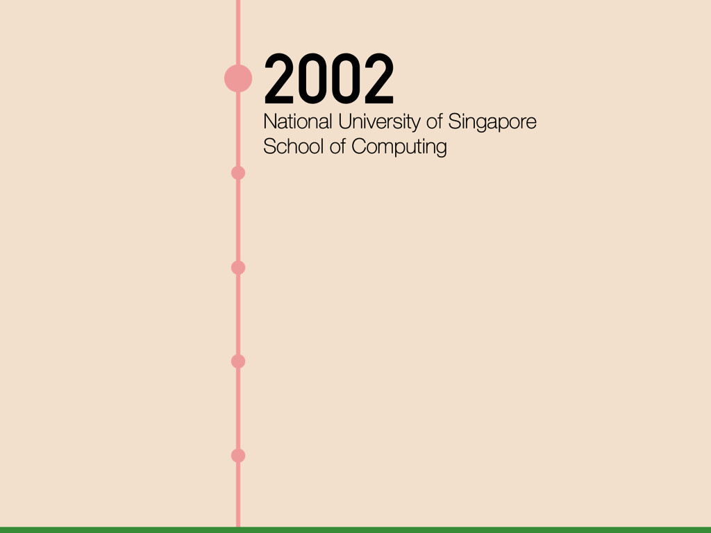 2002 National University of Singapore School of...