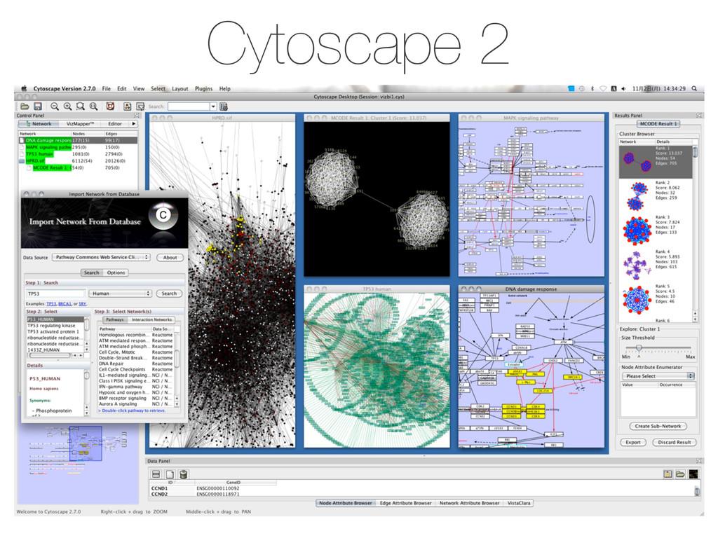 Cytoscape 2