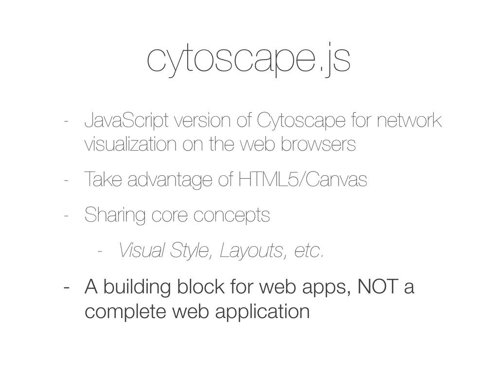 cytoscape.js - JavaScript version of Cytoscape ...